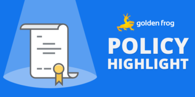 Golden Frog Policy Highlights Offer In-Depth Look at Policy